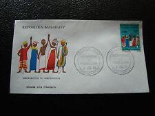 MADAGASCAR - enveloppe 9/12/74 - fokonolona - yt n° 549 - (cy9) (A)