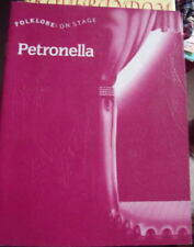 FOLKLORE ON STAGE: PETRONELLA PLAY SCRIPTS - 8 MINT