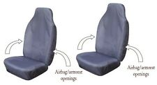 ISUZU TROOPER Heavy Duty Waterproof Car Seat Covers (Pair) in GREY