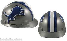"MSA V-Gard Cap Type Detroit Lions NFL Hard Hat ""RATCHET"" Suspension FAST SHIP!"