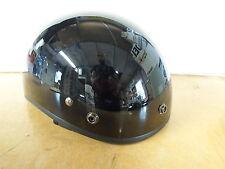 New Fulmer Half Shell Black XS AF-70  DOT  Motorcycle Helmet