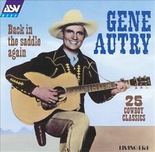 Back in the Saddle Again [ASV/Living Era] by Gene Autry CD
