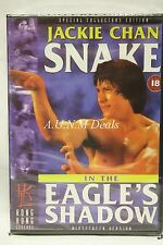Snake In The Eagle's Shadow jackie chan ntsc import dvd English subs