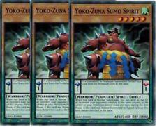3x Yoko-Zuna Sumo Spirit  - Common-  EXFO-EN000 -NM- Yugioh Extreme Force