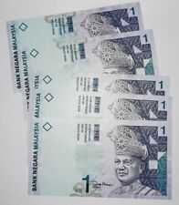 """2000 MALAYSIA RM1 ZETI """"REPLACEMENT"""" ZAD CONSECUTIVE 5 Notes UNC [P-39a*]"""