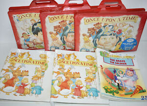 Once Upon A Time 1980's/90's Vintage Childrens Cassette Magazines Fabbri READ