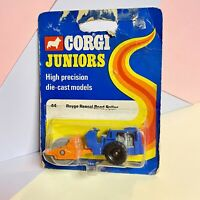 Corgi Juniors No 44 Raygo Rascal Road Roller On Sealed Worn Blister Packing