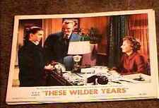 THESE WILDER YEARS 1956 LOBBY CARD #2