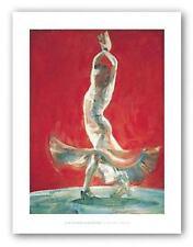 Flowing Dress Fletcher Sibthorpe Dance Art Print 26x19