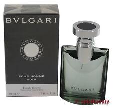 Bvlgari Pour Homme Soir By Bvlgari 1.7oz/50ml Edt Spray For Men New In Box
