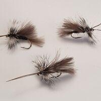 3 Pink Fritz Black Marabou Bobbies # 10s FB018
