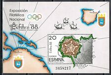 Spanje España 1988 blok 32 Exfilna 88 Postfris MNH