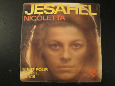 Vinyle 45 Tours - Nicoletta - Jesahel