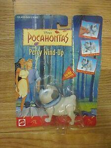 Disney's POCAHONTAS Collectible Figure Percy Wind Up Mattel 66567