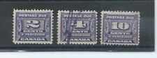 Canada stamps. 1933 Postage due. Used or MNG. . (X494)