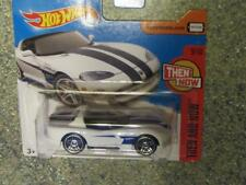 Hot Wheels 2017 # 340/365 DODGE VIPER RT/10 WHITE HW ENTONCES Y AHORA