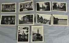 10 Kleinfotos / Leporello REINHARZ bei Bad Schmiedeberg ca. um 1945  /S251