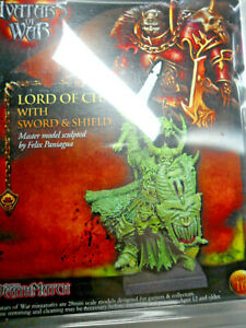 Avatars of War Lord of Chaos metal Warhammer Leader W275