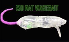 150mm Wakebait Swimbait Murrycod Barramundi UnPainted Blank Lure 5 Per Pack