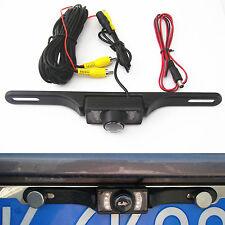 Car Rear Reversing Camera License Plate Infrared IR CMOS  Parking Night Vision