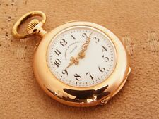 Vacheron & Constantin 14K solid Rose Gold antique ladies Pocket Watch from 1910