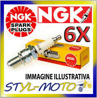 KIT 6 CANDELE NGK SPARK PLUG DPR7EA-9  GL 1500 SE GoldwingSC22 1500 2000