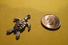 18 Pewter Sea Turtle Charms