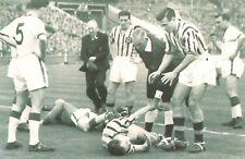 Nostalgia Postcard FA Cup Final 1957 Man Utd v Aston Villa Repro Card NS56