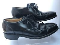 Men's Size UK 6 Boys Black Leather Loake Edgware Smart Formal Lace Up Shoes