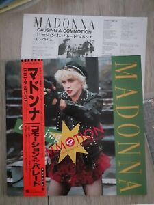 Madonna Causing A Commotion Vinyl EP Japan with Obi And Insert