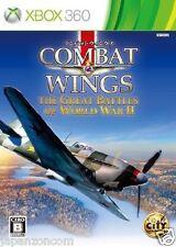 Used Xbox 360 Combat Wings MICROSOFT JAPAN JAPANESE JAPONAIS IMPORT
