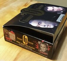 Hammer Horror, series 1 , empty box .Christopher Lee.  Peter Cushing on top