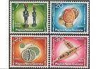 Papua New Guinea 1976 BOUGAINVILLE ART (4) Unhinged Mint SG 301-4