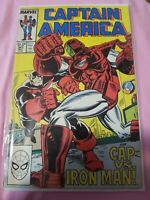 Marvel Comics CAPTAIN AMERICA 341 1st App BattleStar Falcon Winter Soldier