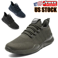 Men's Running Sneakers Sports Breathable Walking Tennis Trainer Casual Shoes US9