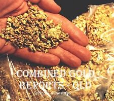 GOLD FOSSICKING IN QLD - Combined Reports & Maps (CD Copy)