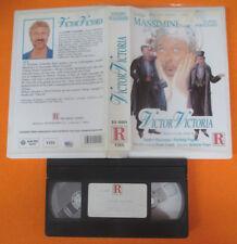 VHS film SANDRO MASSIMINI Flavia Fortunato VICTOR VICTORIA RICORDI (F185) no dvd