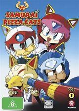 Samurai Pizza Cats : Collection 1 : Eps 1-26 (DVD, 2013, 4-Disc Set) Region 4