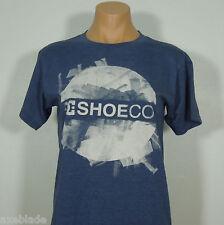 DC SHOE CO Men's T-Shirt Blue size S Fit