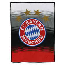 Fleecedecke FAN 150x200 Kuscheldecke vom FC Bayern München 21783 FCB Fanartikel