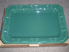 "Longaberger Pottery ""Rectangular Serving Tray"" Ivy, Usa, New!"