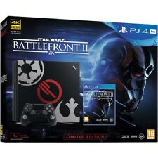 Playstation PS4 Pro Star Wars Battlefront II Limited Edition new in box