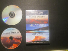 National Parks Exploration Series Triple Feature Grand Canyon, Yellowstone, Yose