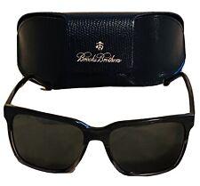 New Brooks Brothers 5032S Grey Wood/Grey Sunglasses W/ Case