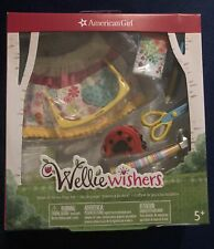 American Girl Wellie Wishers Doll Make It Great Play Set Tools Apron Pen Hammer+