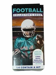 NFL Football Collector's Edge Box Cards Packs Parallels Autos 1:4 NEW