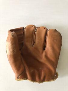 Vintage USA Hank Bauer Glovemaster Four Baseball Glove M35 Four Finger