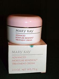 Rare New Mary Kay Advanced Moisture Renewal Treatment Cream HTF Jar Discontinued