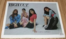 HIGH CUT VOL.224 BLACKPINK KOREA MAGAZINE TABLOID 2018 JULY NEW