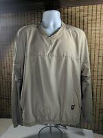 FootJoy FJ Golf Jacket Shirt VNeck Pullover Medium V Neck Long Sleeve M
